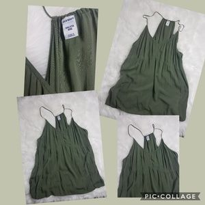 Old Navy sz XXL olive green tunic